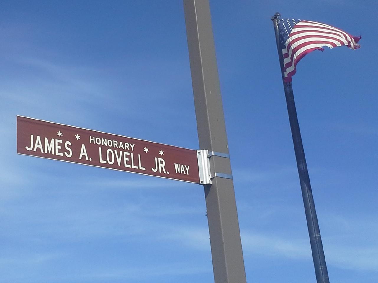 Captain James A. Lovell Jr. U.S. Navy pilot and NASA Astronaut - Apollo Program.  Photo: L Zabors/Honorary Chicago