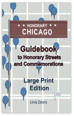 Latest release - Honorary Chicago Guidebook on sale 30% off thru Dec. 31, 2014