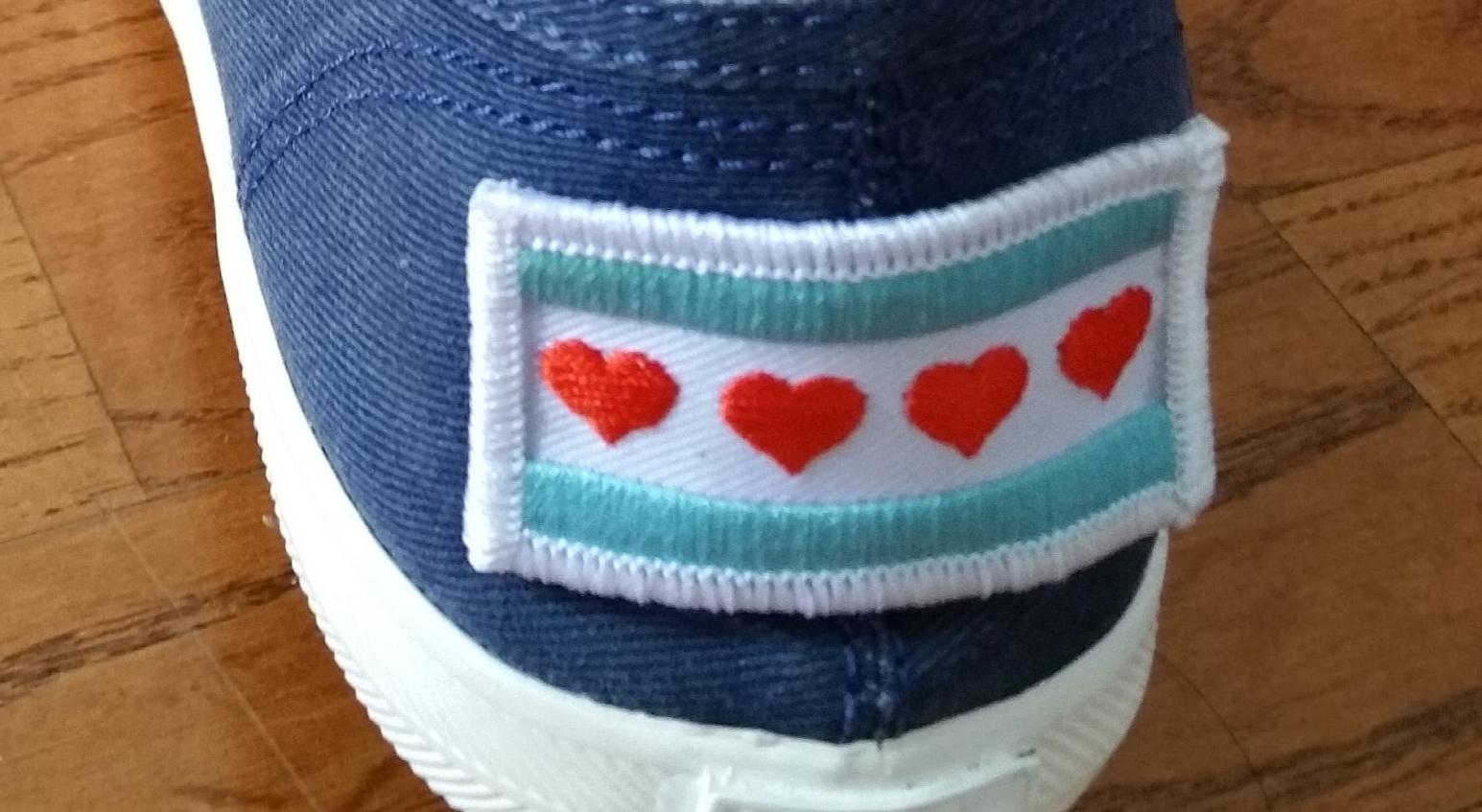 Honorary Chicago walking tour shoe