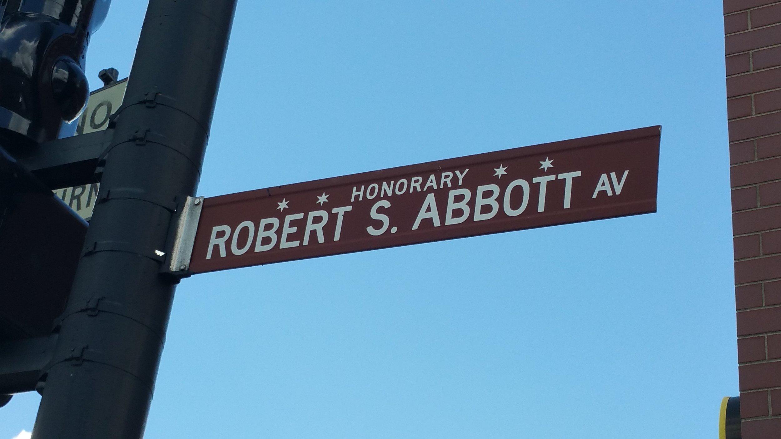 Robert Abbott - Chicago Defender newspaper founder - Honorary Chicago