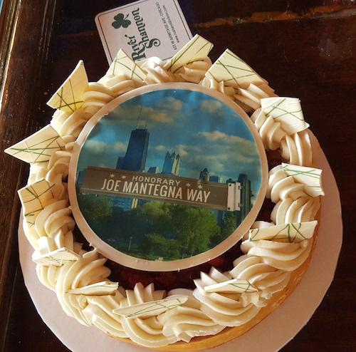 Eli's Cheesecake - Honorary Joe Mantegna Way