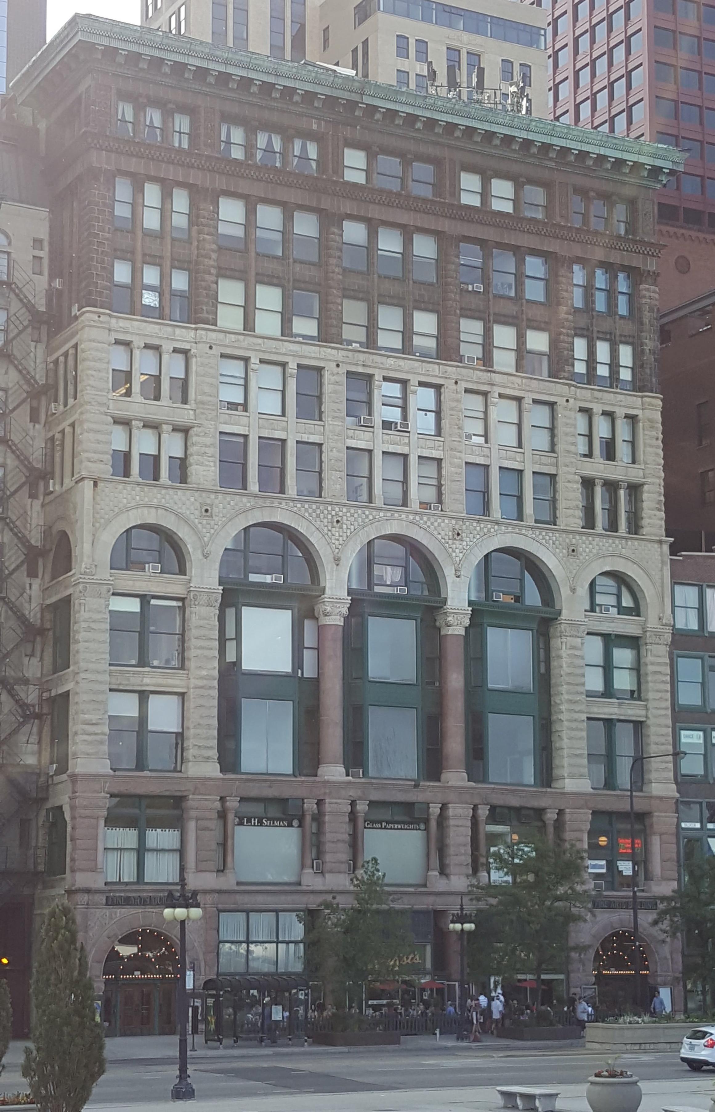 Fine Arts Building Chicago 2017 - 410 S Michigan Avenue
