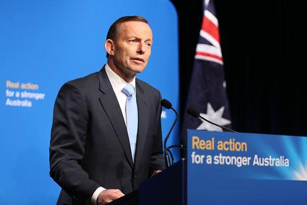 Current Australian Prime Minister - Tony Abbott