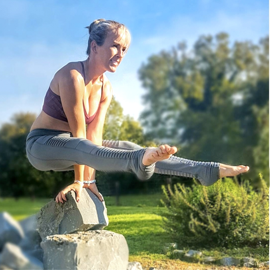 Lorraine Bradley, RYT 200  @catbradleyoga  Lorraine is most well known for her clever use of props to make yoga accessible to everyone. Check her Instagram to learn from her creative uses of the Infinity Strap and other props. When she is not on Instagram brightening everyone's day, she is found teaching at  seomrashaktiyoga  in her beautiful country of Ireland.