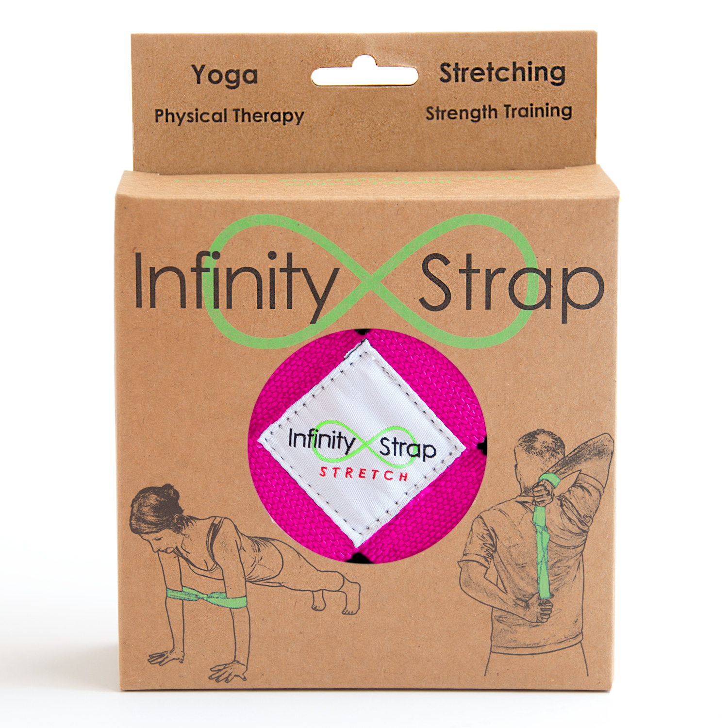 Every Infinity Strap is individually packaged.