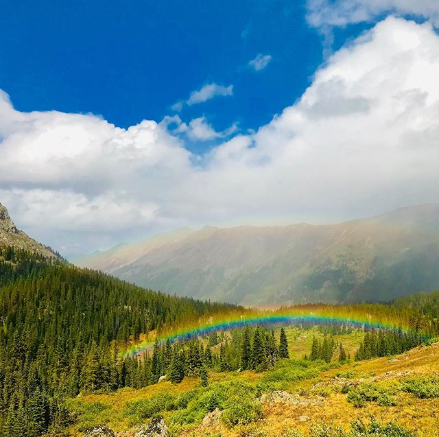 Blanketed in Rainbows