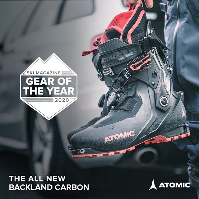 Looks like the season is off to a great start for @atomicski and @skimagazine .  Get over to your #local #backcountry #skishop and check these boots out!