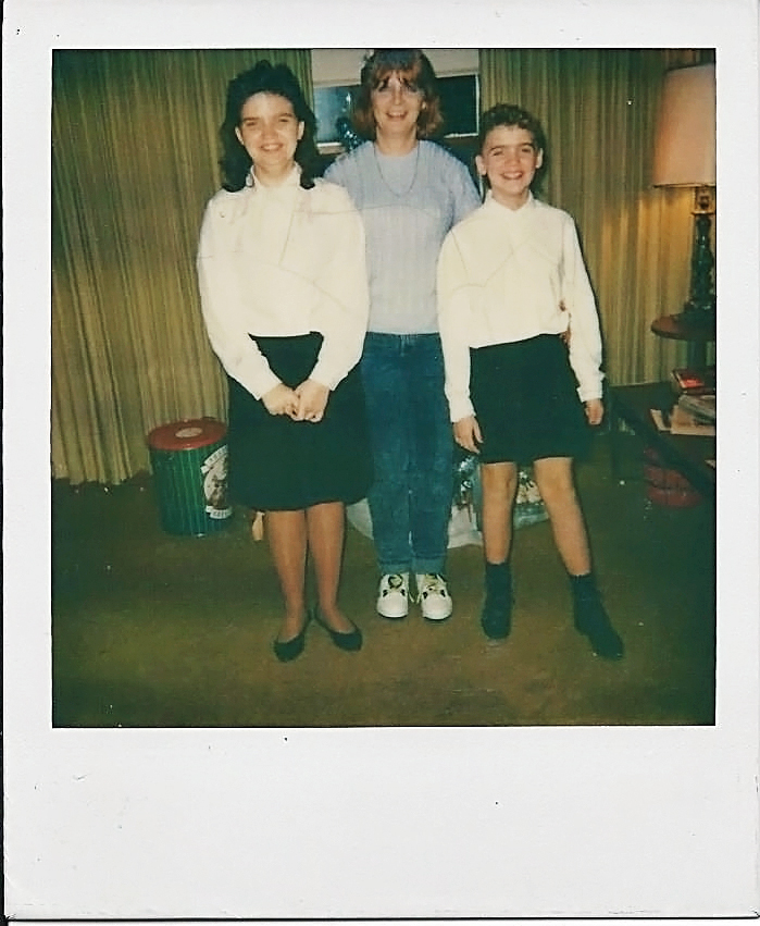 This is one of the few pictures I have of her. This was in 1991, surprisingly she's really lucid in this pic and looks to be doing well. Well, aside from living in the basement of her husbands parents house - with her husband, the two girls, and her mentally deficient boyfriend - who was younger than me....omg. I'll get to that one eventually. The girls had so many issues. I tried to be there, I did, but at some point I had to cut ties to protect myself and, ultimately, my newborn son. (another story, of course)