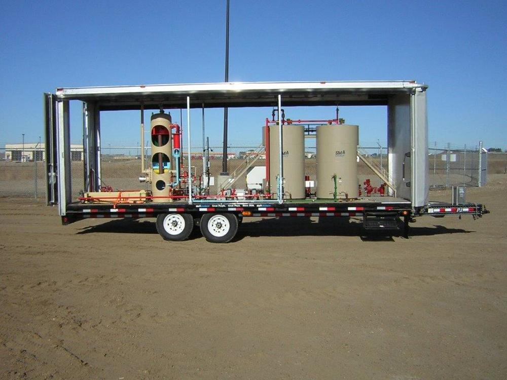 SM Energy Demonstration Trailer/Load Covering Systems Enclosure
