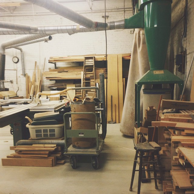 New shop layout! #vscocam #furniture #craft #woodcraft #mnmade