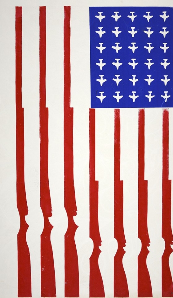 American Flag [Untitled], 1970