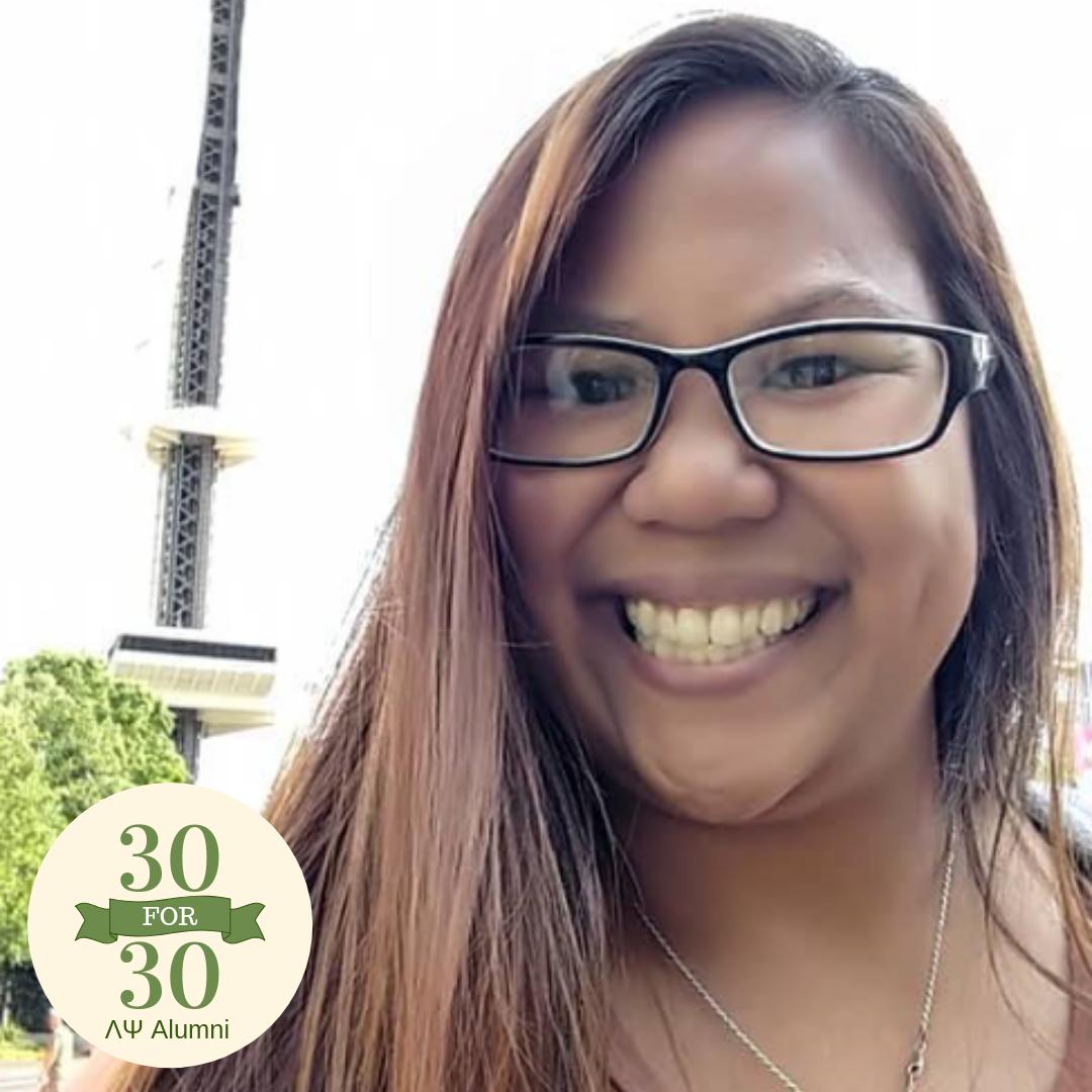 Krystle De Los Santos   Pledged Fall 2014 | Graduate Spring 2018