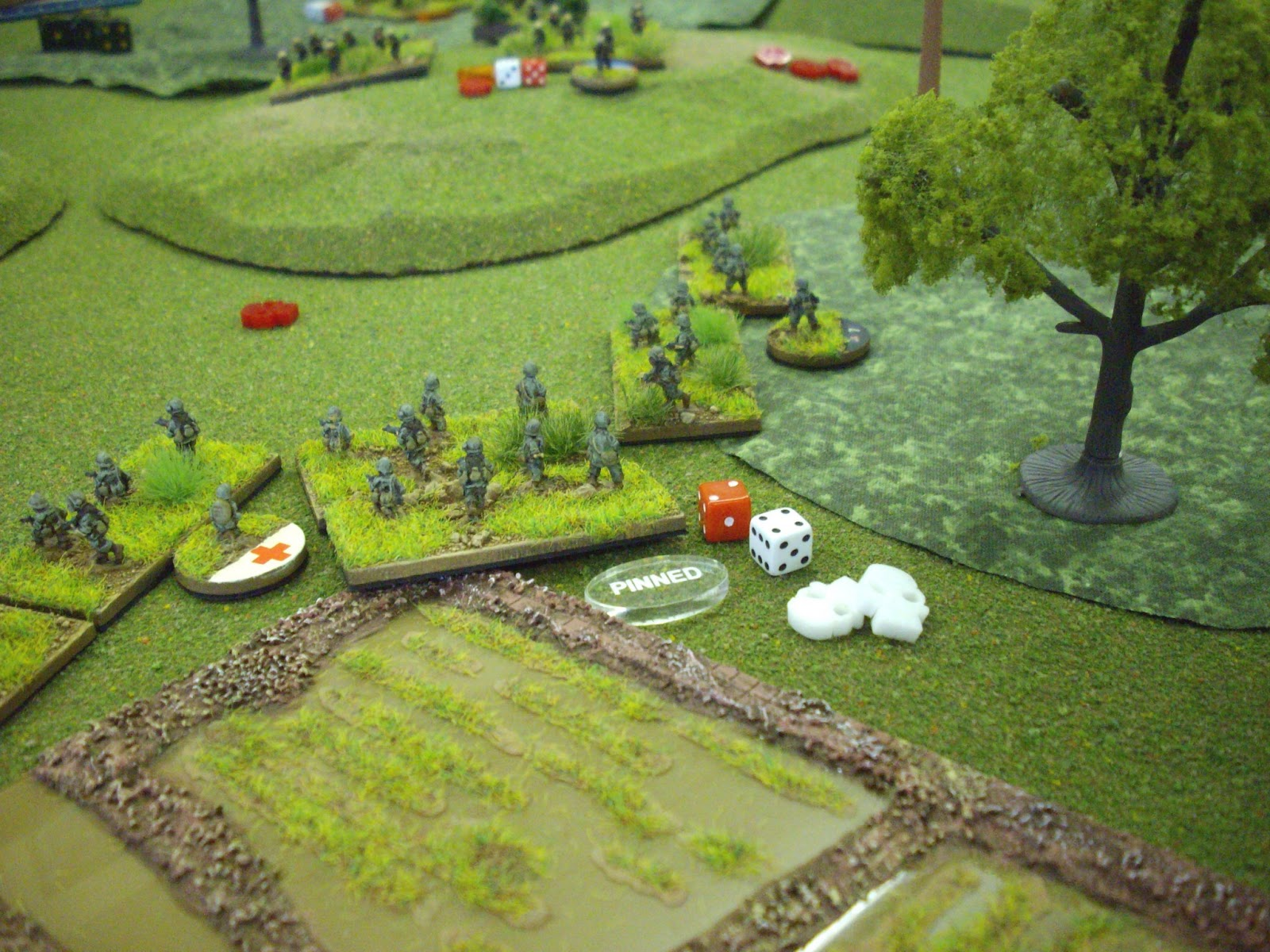 Destruction and death in one of Dave's 3rd Platoon's squads.