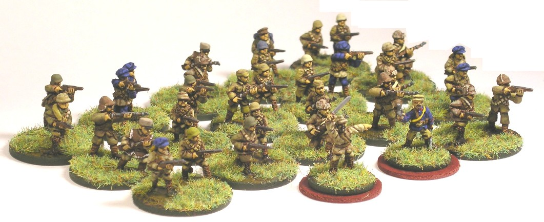 15mm WW2 Chinese infantry
