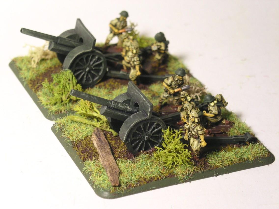 Japanese 105mm artillery