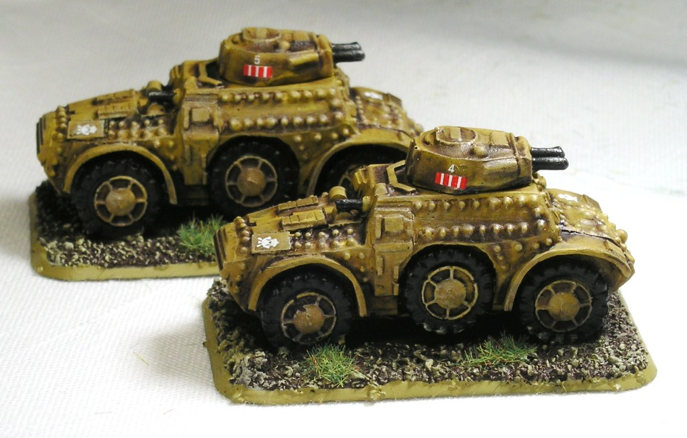 AB40 armoured cars from Gaming Models