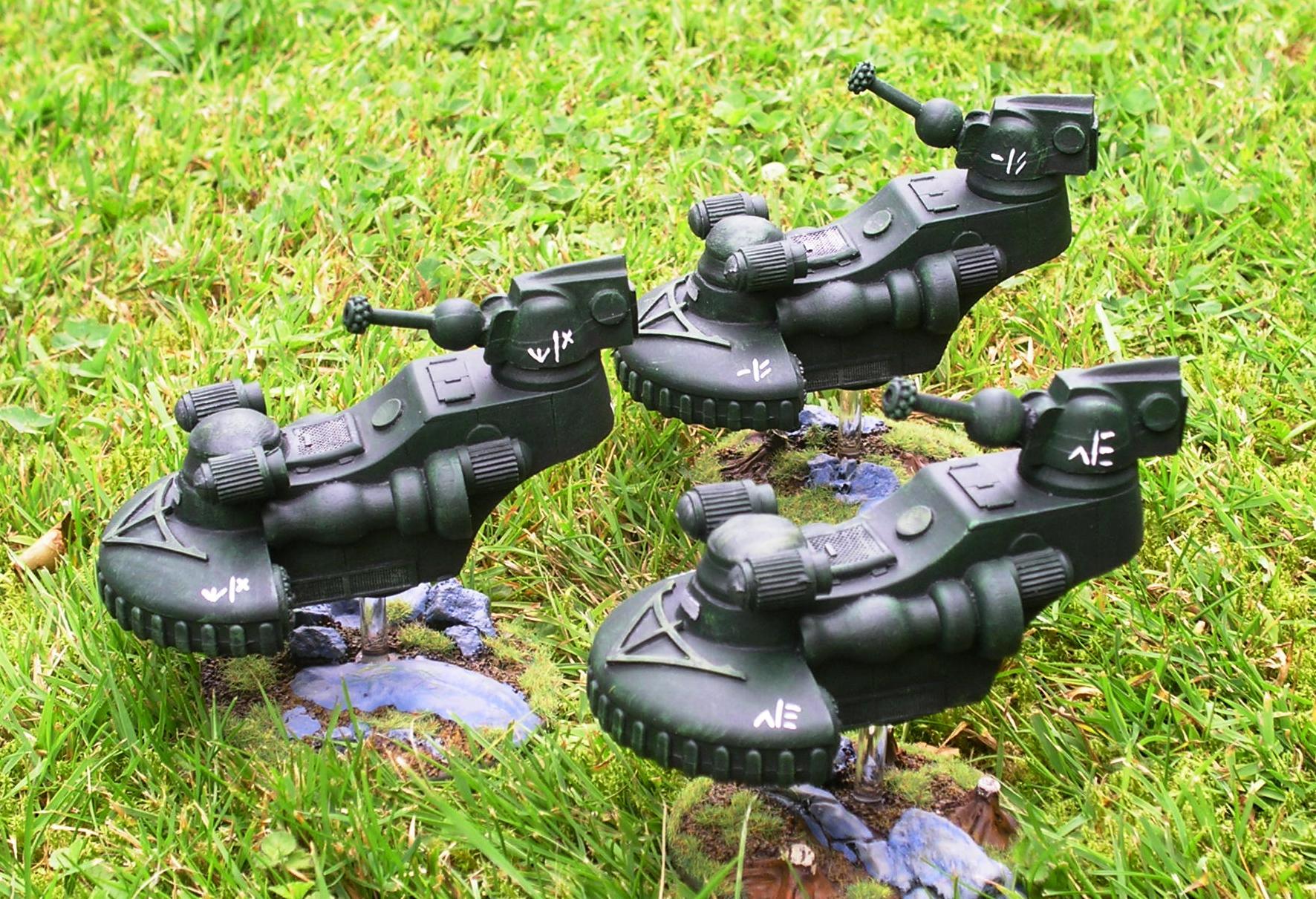 """Flycatcher"" tanks"