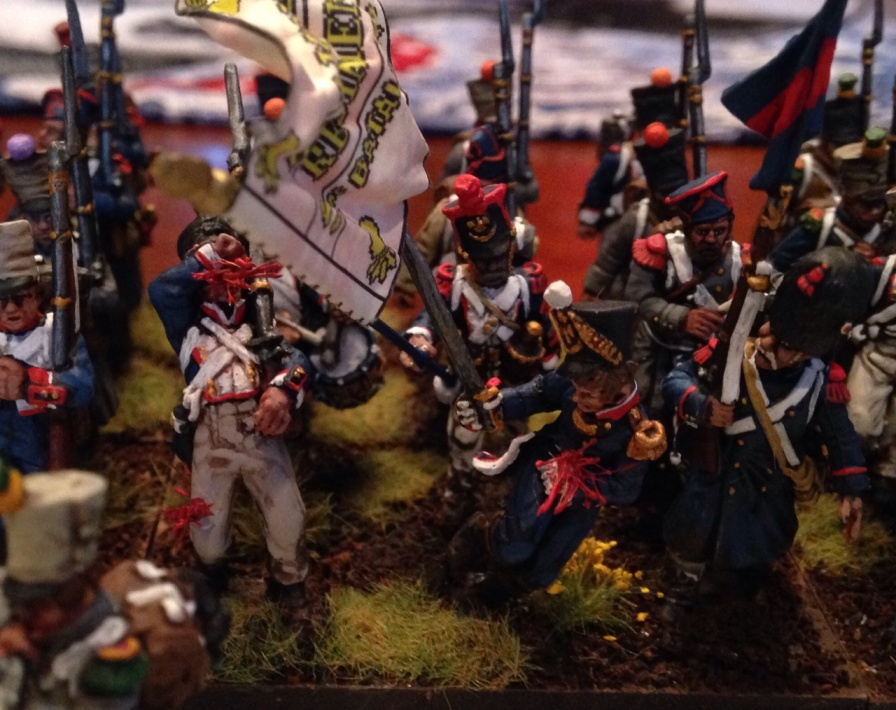 Napoleonic Foot from Warrior in the Attic