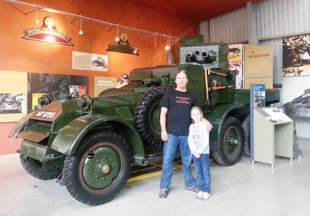 British Lanchester Armoured Car