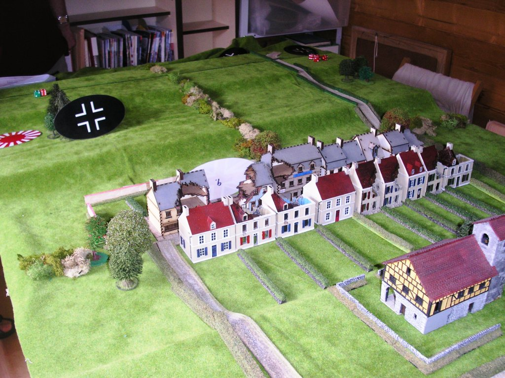 Picture 01:  Belle Maison and the start of the German advance