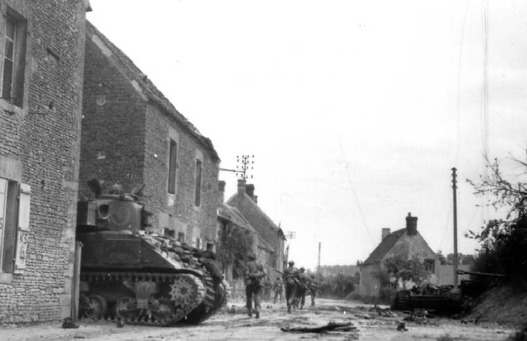 Saint Lambert-Sur-Dives, 1944.