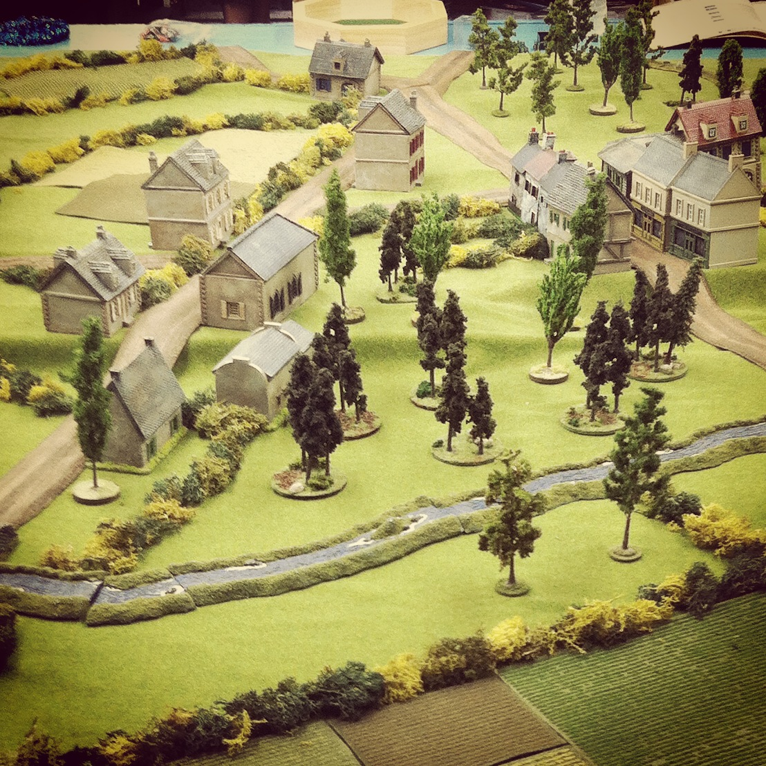 View from the north entry point for Canadian troops in the IABSM Saint Lambert-Sur-Dives scenario