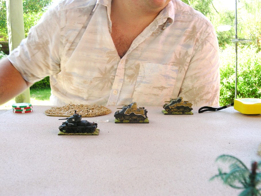 Wearing the right shirt: very important when wargaming