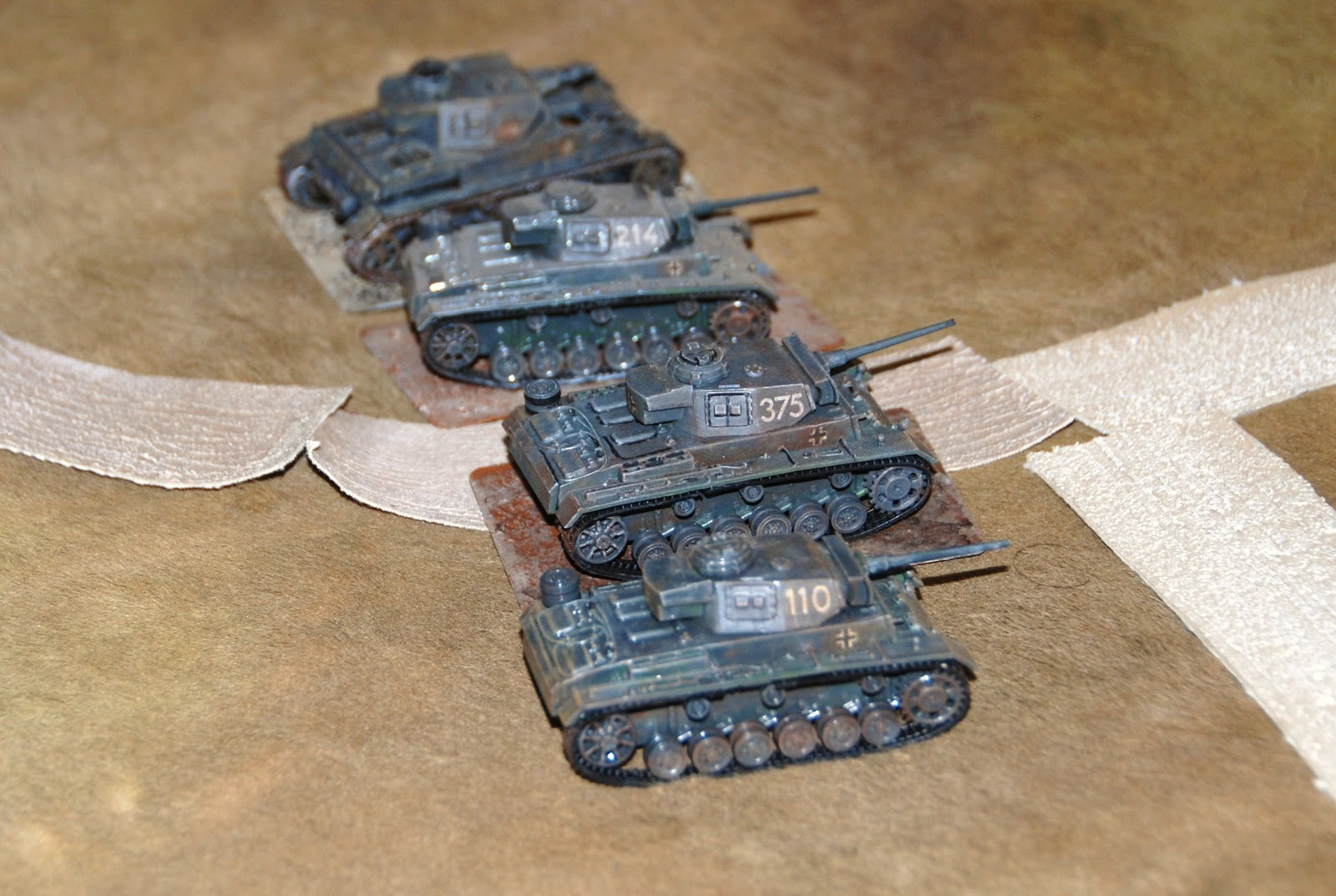 Panzers go hunting...