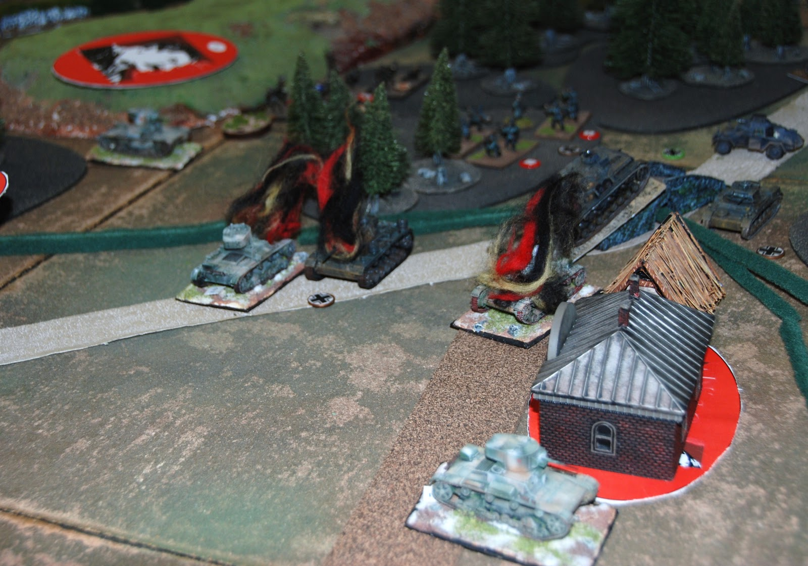 Soviets take revenge