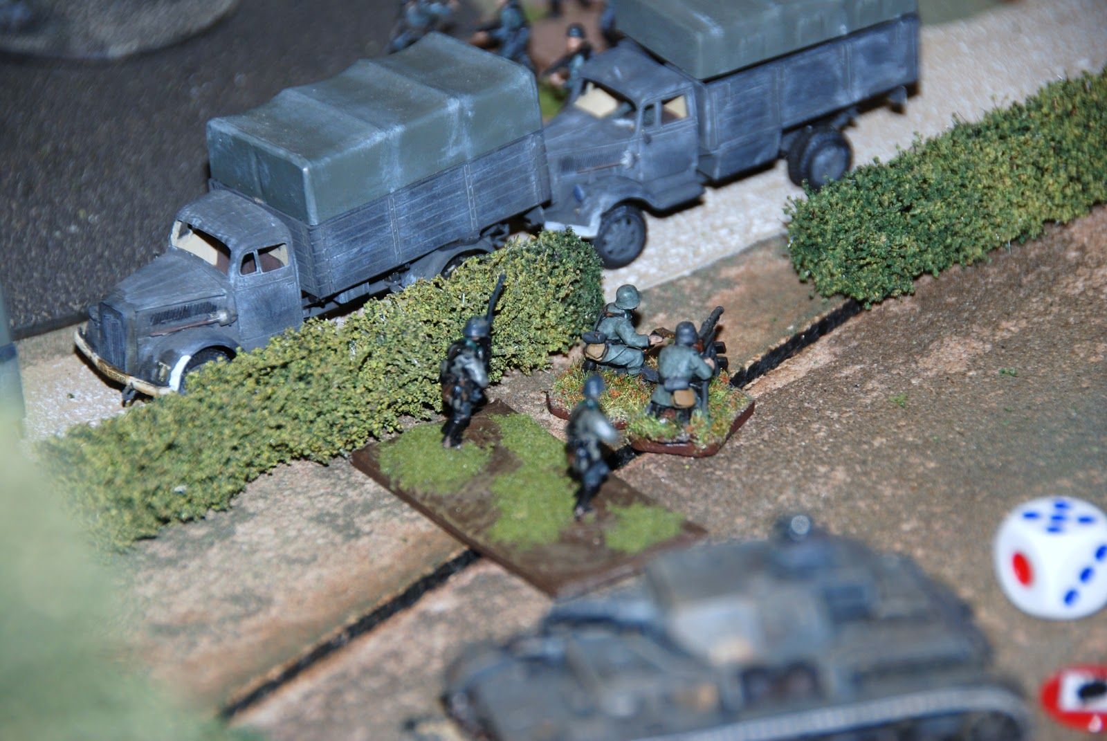 MMG providing defensive cover