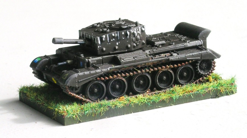 company hq support element: 1 x cromwell with 95mm gun