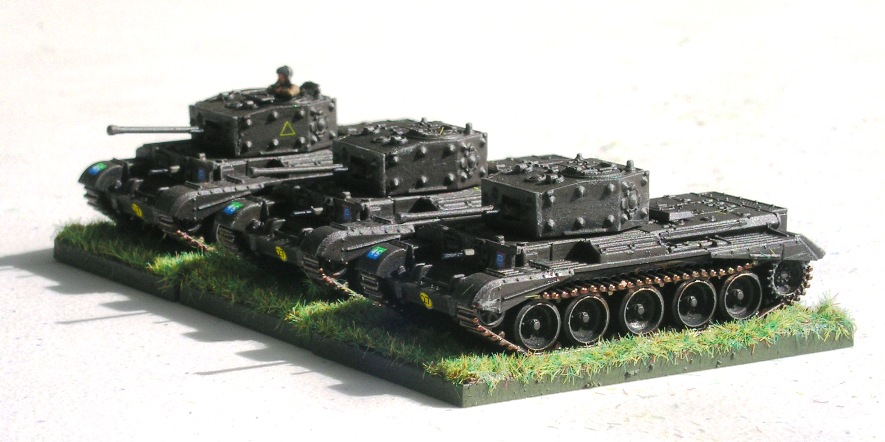 (understrenght) Troop four (3 x Cromwell, 1 x firefly missing)