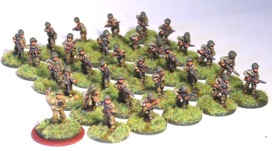 1st Platoon (3 x Rifle Squad)