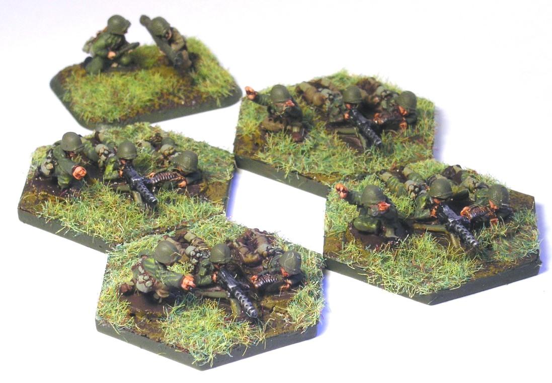 Machine Gun Platoon(4 x MMG, transport missing)