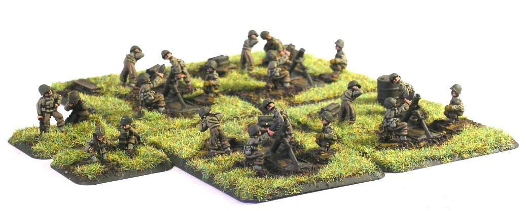 "Chemical Mortar Platoon(4 x 4.2"" Heavy Mortars)"