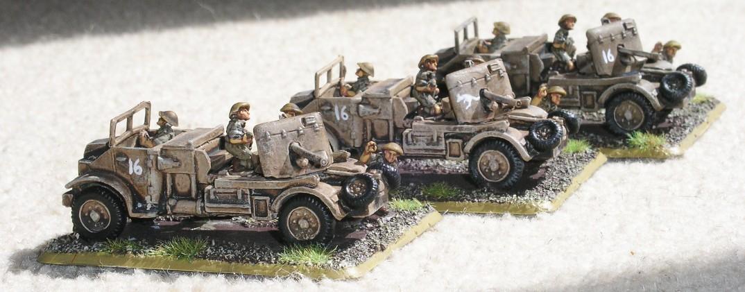 Anti-Tank Platoon (3 x 2lb Portees)
