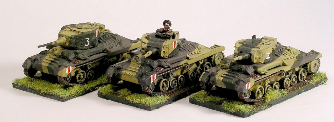 C Troop (3 x Valentine)