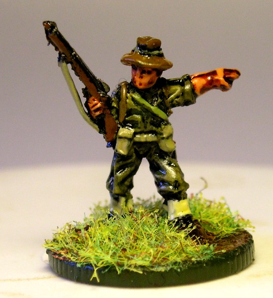 NCO with Rifle