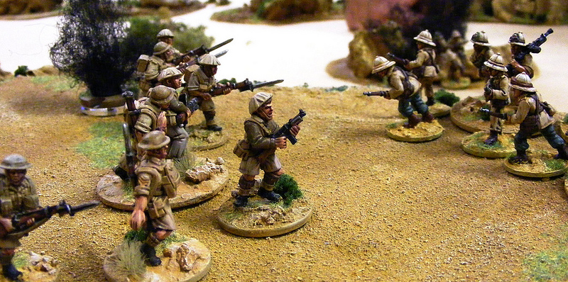 RSM MACTAGGART LEADS HIS FINAL BAYONET CHARGE