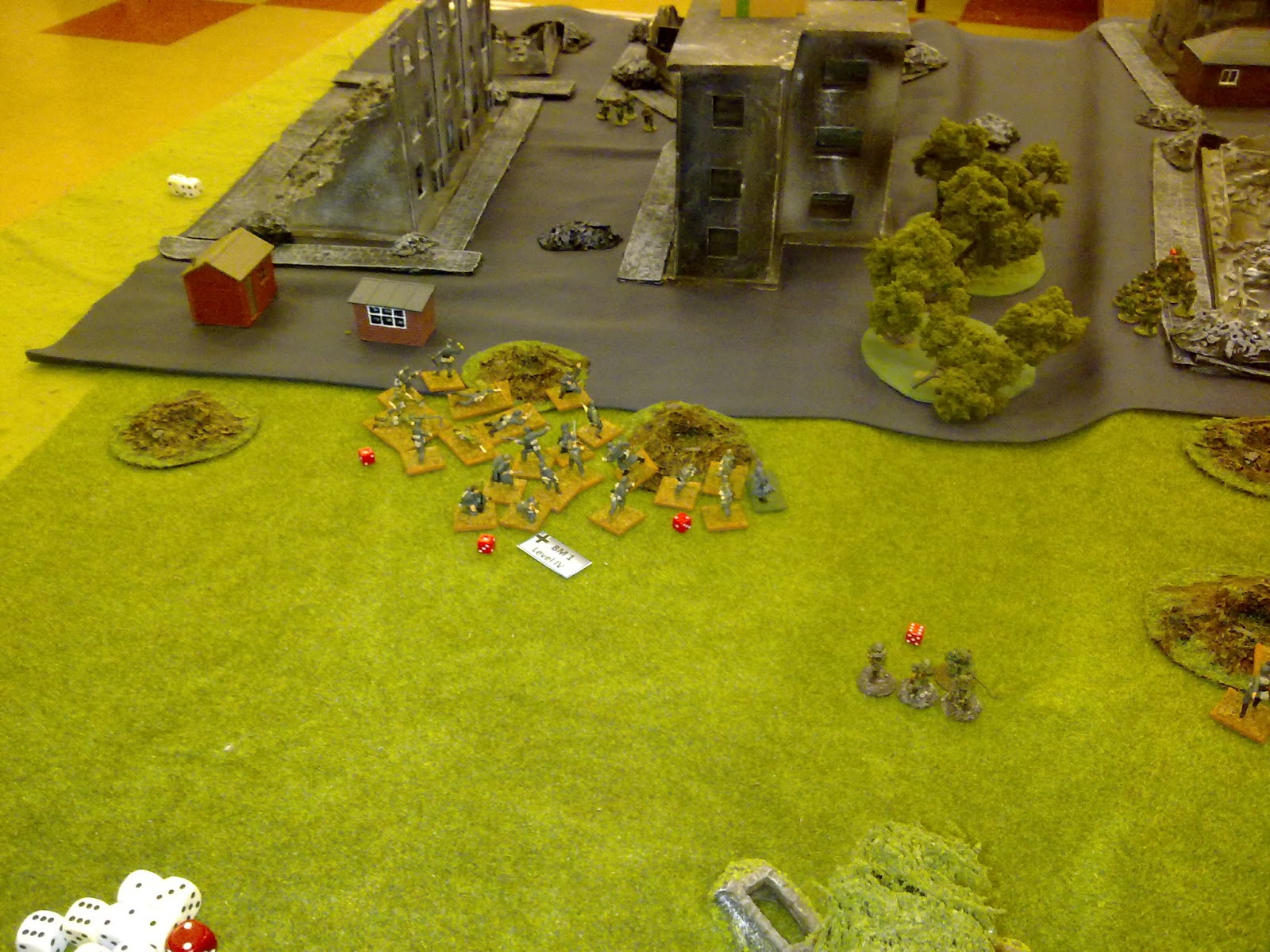 2nd platoon routs the Russians