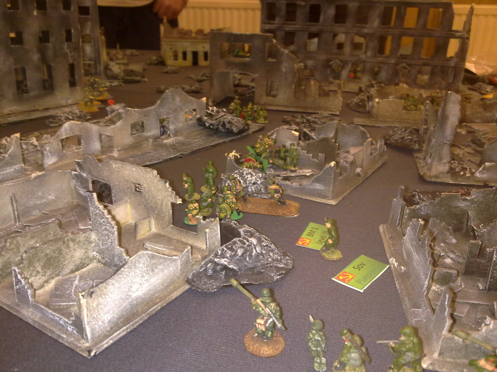 THE GAME CONSCRIPTS CANNOT OVERCOME THE RUBBLE
