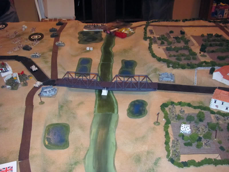 The Ponte Primosole: IABSM's variable movement dice made dashing across this lengthy span a real gamble