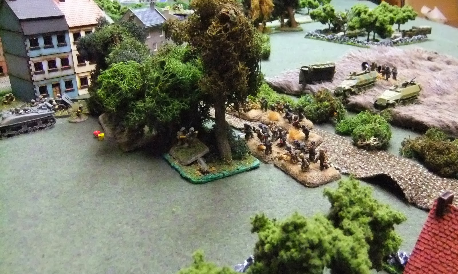 Pz Grens charge Franklin's position