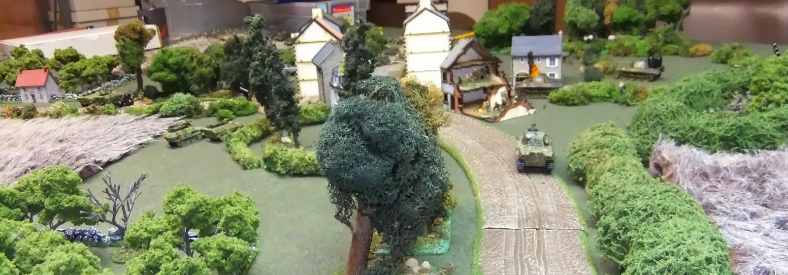 End of game, view from German table edge