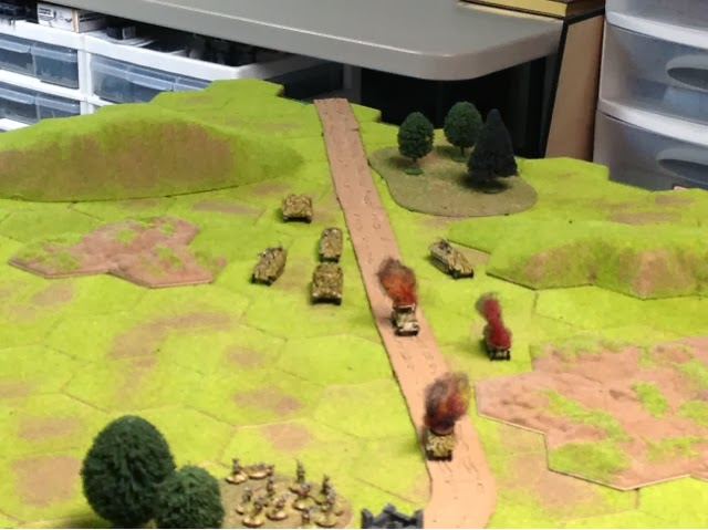Tanks and Panzergrenadiers start dishing out revenge