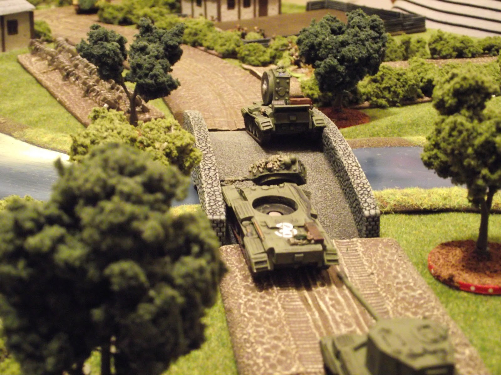 The PaK40 takes out the secondCromwell on a great shot.