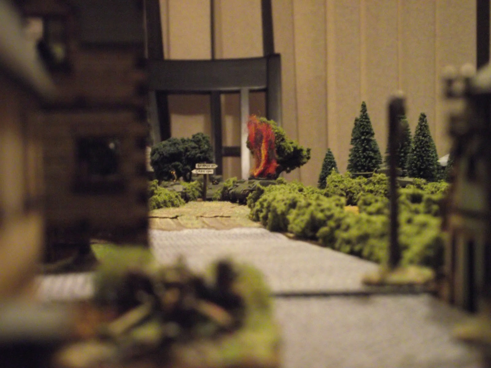 """The 3rd card pulled after the reshuffle is the German AT card and """"wham !"""", lead Sherman down."""