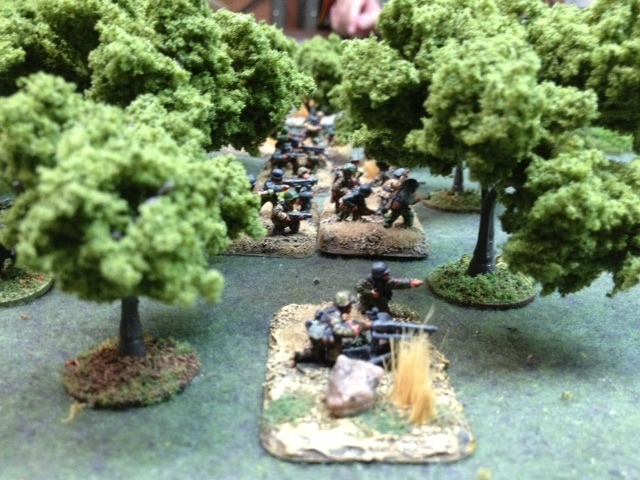 MIKEY'S TROOPS DRAW A BEAD (15MM BATTLEFRONT FIGURES FROM MY COLLECTION).