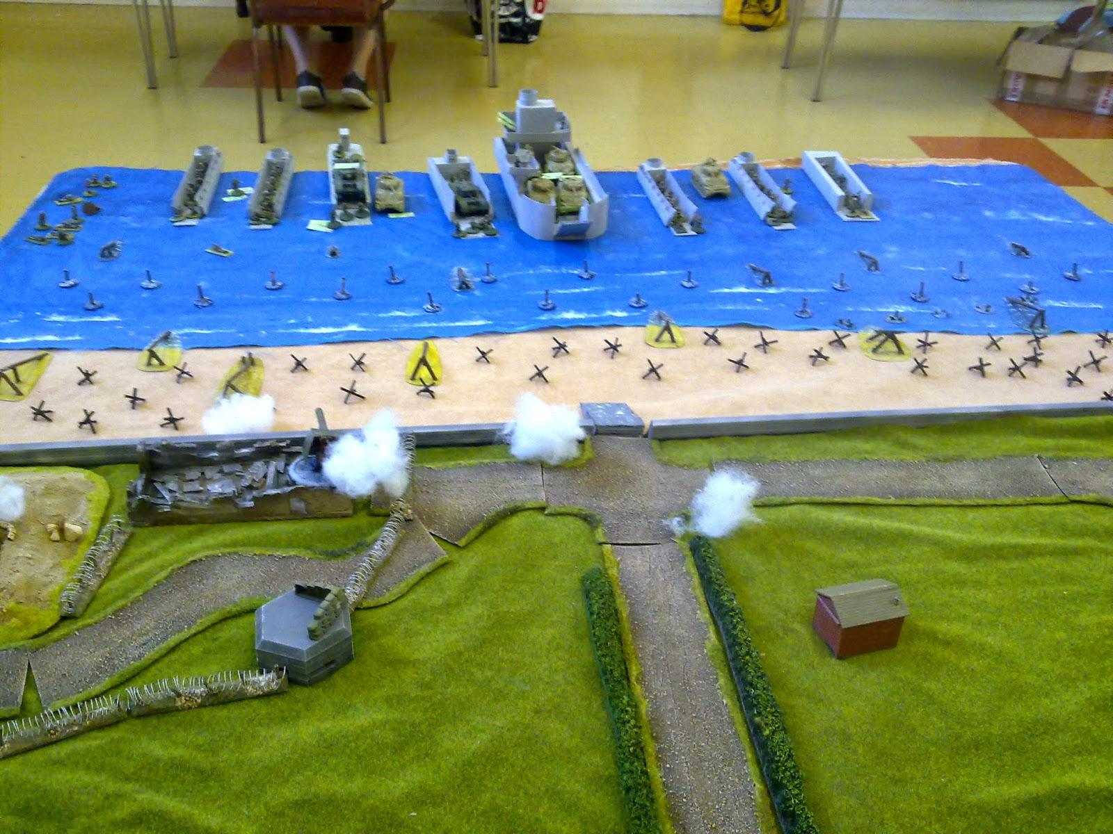 British artillery stonks hit the defenders.