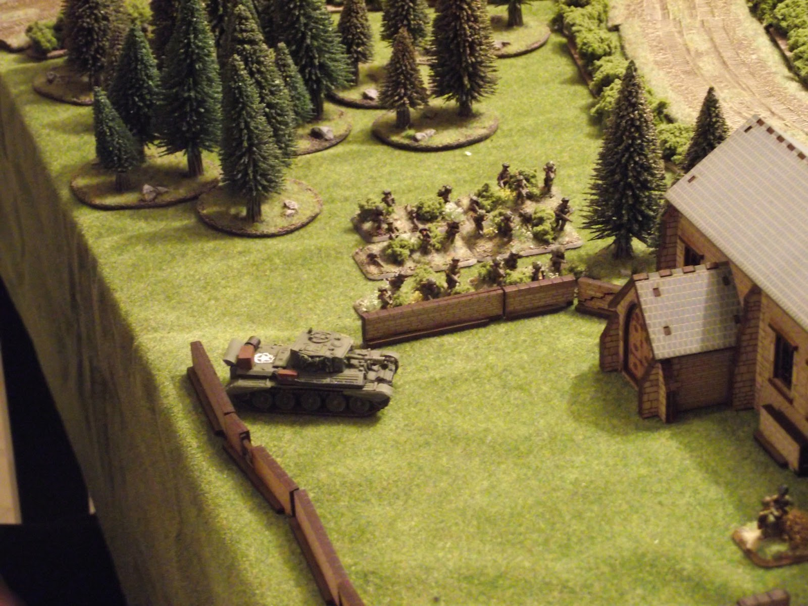 David starts to gather his platoon for an all out assault.
